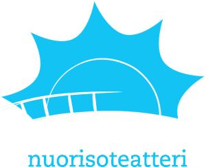 Hirvarien logo tummalle taustalle