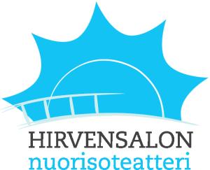 Hirvarien logo vaalealle taustalle
