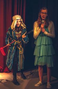 Pukari (Senni Mäki) ja Hanna (Laura Liimula)
